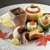 山田屋 - 料理写真:前菜(季節に応じて内容が変わります)