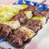 桜なべ 中江 - 料理写真:インカの塩で味付け「桜肉串焼き」