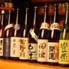居酒屋 裕 - ドリンク写真:こだわりの日本酒。なかなか入手できないレアな銘柄や、店主の隠し酒もあります。