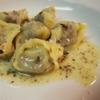 ピアノピアーノ - ドリンク写真:ピエモンテ風肉のラヴィオリ トリュフ風味