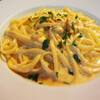 ピアノピアーノ - ドリンク写真:スパゲッティ生ウニのクリームソース