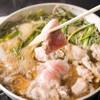 魚箱 - 料理写真:当店自慢 すき焼き風「まぐろネギマ鍋」
