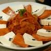 サンドゥレ・ポチャ - 料理写真:豆腐キムチ  炒めたキムチの甘みがたまりません