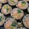 サンドゥレ・ポチャ - 料理写真:キンパッ(韓流のり巻き)は2種類あります