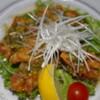 AJITO - 料理写真:油淋鶏(ユーリンチー) ~鶏ももの唐揚げ 香味ダレがけ~ 680円