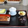 うな吉 - 料理写真:レディース定食です。茶碗蒸しとフルーツをお付けしております。