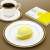 マルゼン カフェ - 料理写真:梶井基次郎の代表作「檸檬」にちなんでの京都店限定スイーツ「檸檬」、 シルエットはまさにレモンに見立て、酸味の利いたレモンゼリーとレモンサワークリーム、そしてレモンスポンジの三層からなる程よい甘みと酸味が口の中に広がります。