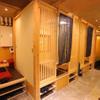 御茶ノ水イカセンター - 内観写真:接待や、落ち着いた雰囲気で飲みたい時には、半個室がおススメ!