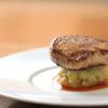 Bistro Cafe GAVA - 料理写真:看板メニュー「フォアグラのポワレ」