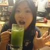 下町ホルモン 十三 まるたけ - ドリンク写真:意外と旨いデスョ   青汁入り             青チュー430円