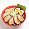 富山ブラック 麺家いろは - 料理写真:王様チャーシュー麺