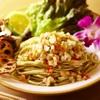 麺屋 Hulu-lu - 料理写真:Hawaiian冷製ロミロミサーモンのバジルSOBA