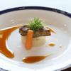 横浜瀬里奈 ステーキドーム - 料理写真:フォアグラ温野菜添え 吉野餡 盛り付け