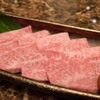 KANNAN亭 - 料理写真:特選カルビ バラ肉の中でも最も希少な「三角バラ」を厳選しました。 見た目も美しく、口の中でとろける極上の霜降り肉をおたのしみください。