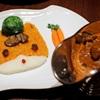 ブラッスリーローリエ - 料理写真:ぐんまちゃんカレー(銘柄チキン・手ねりまるごと芋こんにゃく入り)