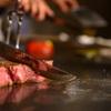 SAI.teppan - 料理写真:目の前で女性シェフが焼き上げる厳選黒毛和牛ステーキ