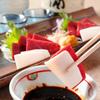 馬春楼 - 料理写真:赤身とコーネの紅白刺し。