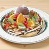カフェ&パンケーキ gram  - 料理写真:フルーツショコラパンケーキ