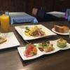 キャトルフィーユ - 料理写真:7月のランチメニュー本日のお魚料理カレー風味のソース