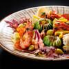 臼杵ふぐ 山田屋 - 料理写真:秋の前菜(一例)