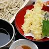 十割そば 古賀 - 料理写真:海老と季節野菜の天せいろ1280円