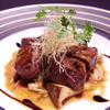 OSMAND - 料理写真:特選黒毛和牛ミスジのサイコロステーキ 黒トリュフの香り
