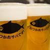 """とろさば料理専門店 SABAR - ドリンク写真:乾杯の合図はもちろん、""""おつかれサバです!"""""""