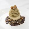 リール ギンザ - 料理写真:茨城産の和栗を使用したグラノーラモンブラン。卵黄たっぷりのアイスとご一緒に。