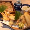 紗羅餐 - 料理写真:鱚ときのこの天ぷらと蕎麦