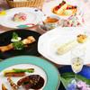 レストラン花の館 パラディ北野 - 料理写真:色鮮やかなお料理の数々・・