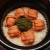 いしづか - 料理写真:隠れた人気メニュー 雲丹御飯