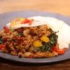 ESPRESSO D WORKS - 料理写真:ランチ一番人気のガパオライス!