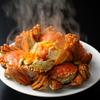 礼華 青鸞居 - 料理写真:上海蟹の姿蒸し