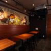 ゴリゴリバーガー タップルーム - 内観写真:4名様用テーブル