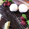 カンティーヌ アリ・バブ - その他写真:『ビュッシュドゥノエル』仏定番クリスマスケーキ