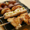 鳥恵 - 料理写真:焼鳥5本セット