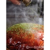 電光石火 - 料理写真:仕上げに青海苔をたっぷりふりかけます♪