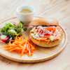 ターミナルカフェ - 料理写真:ベーグルランチ