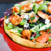 E・A・T - 料理写真:シュリンプトスターダ L.Aの具沢山なビッグサラダ