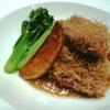 新世界菜館 - 料理写真:牛サーロインの龍髭揚げ