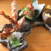 炭火ビストロ 華泉 - 料理写真:さつま知覧どりの厳選5品盛り