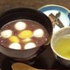 炙屋十兵衛 - 料理写真:冷製白玉クリームぜんざい