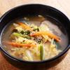 焼肉キングコング - 料理写真:たまごスープ 390円 卵の優しい味が溢れるスープです。