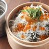 酒場 オカムラ - 料理写真:たっぷり釜揚げシラスと海鮮めし ¥790