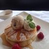 ワイン食堂コウキチ - 料理写真:ホットケーキ(アイスクリーム添え)