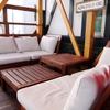 Hawaiian STEAK - 内観写真:テラス席をリニューアル!ソファで統一しています。