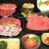 かね竹 - 料理写真:兵庫本店名物の焼きしゃぶの入ったコースも新登場!