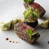 CROWN - 料理写真:【2017春メニュー 3月】黒毛和牛フィレ肉のグリエ モリーユ茸とムースドヴォライユのドーム