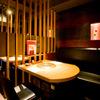 かね竹 - 内観写真:大人気の半個室カップル席です。ご予約頂くことをオススメします♪