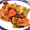 唐朝刀削麺 - 料理写真:西安式カリカリ酢豚